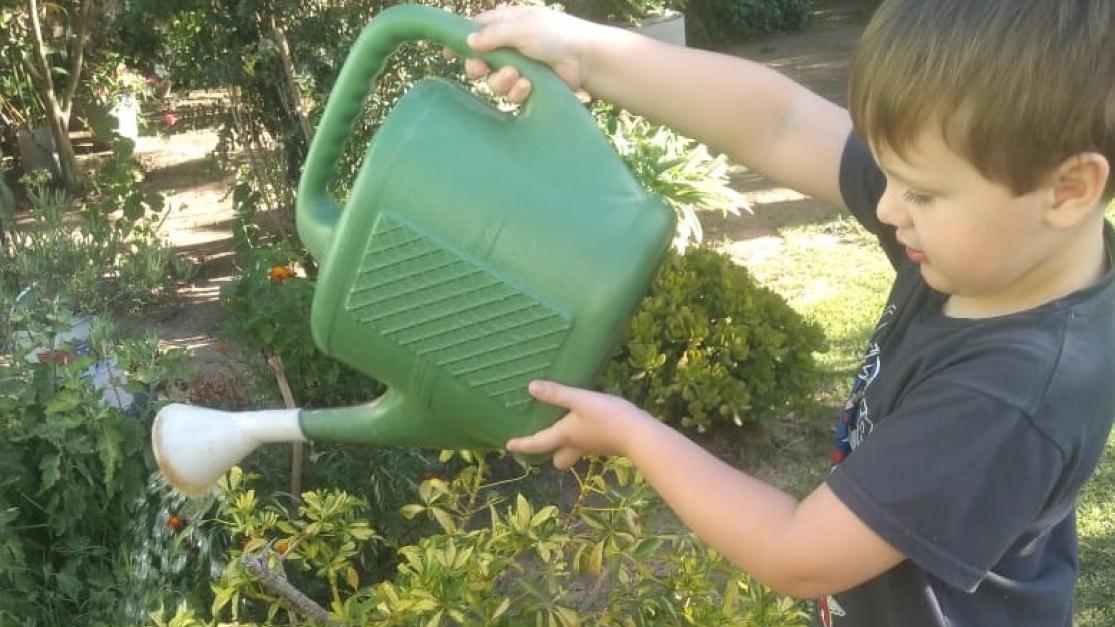 Yo cuido el agua